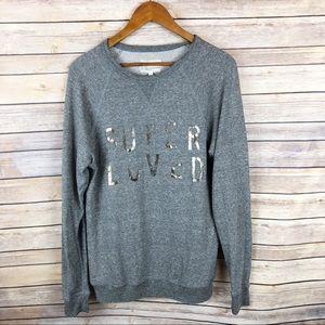 Current/Elliott Super Loved Oversized Sweatshirt S